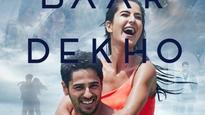 Baar Baar Dekho poster: Sidharth Malhotra goes shirtless while Katrina Kaif sizzles in an orange bikini!