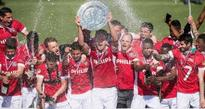PSV Eindhoven retain Dutch title on final day