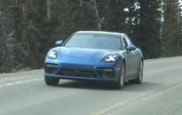 2017 Porsche Panamera spotted, almost completely undisguised (video)