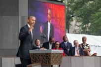 Barack Obama opens historic African American Museum in Washington
