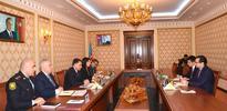 Azerbaijan`s Interior Minister meets Ambassador of Afghanistan