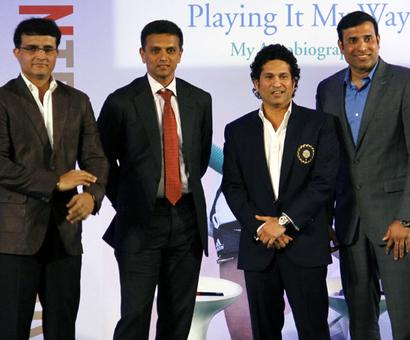 BCCI to felicitate 'Fab Five' but Kumble ignored