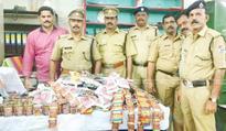 50 kg tobacco products seized at Tirur railway station