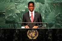 Zambia president will not intervene in opposition leader's treason case