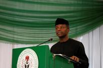 Nigeria's vice president visits restive Delta oil hub for peace talks