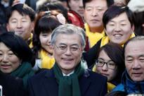 Moon rising? South Korea presidential hopeful quietly takes stage