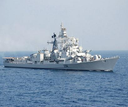 Indian naval ships sail for operational deployment to SCS