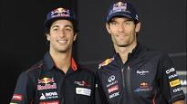 Ricciardo on track to replace Webber