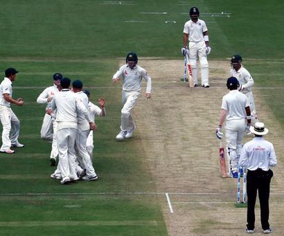 PHOTOS: Lyon floors India with eight-wicket haul