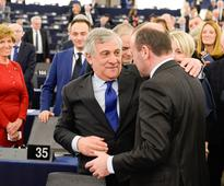 EU parliament swerves right with Tajani's election