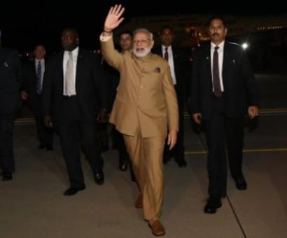 Trump welcomes 'true friend' as Modi lands in Washington