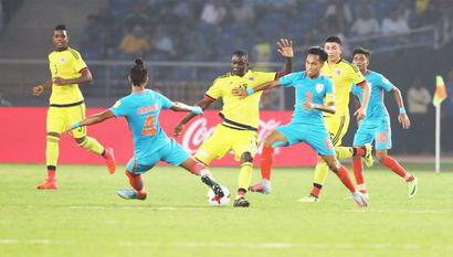 Under-17 WC: India's 'organised defence' impresses Columbian coach