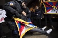 Pro-Tibet protesters detained as China's Xi arrives in Bern