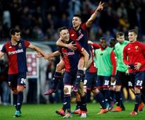 Serie A roundup: Genoa's Giovanni Simeone stuns Juventus with brace; Roma, AC Milan close gap at top
