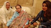 After Shah Rukh Khan, Priyanka Chopra visits Dilip Kumar and Saira Banu at their residence