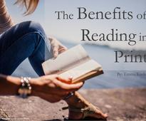 The Benefits of Reading in Print