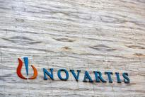 CORRECTED-UPDATE 1-Novartis's Zykadia gets positive results, faces Roche pressure