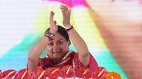 We do not sell dreams, but make dreams into a reality: CM Vasundhara Raje