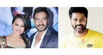 Prabhudhevas next with superstar Ajay Devgn & Sonakshi!
