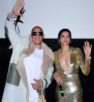 Watch: Vin Diesel-Deepika do the Lungi Dance