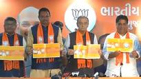 Gujarat assembly elections 2017: BJP releases manifesto, says Congress making tall promises