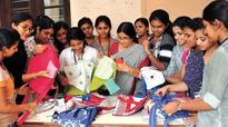 Good-bye plastic, Teresians take cloth revolution out of campus