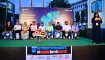 Mangaluru: Students converge at Forum Fiza Mall to observe Earth Hour