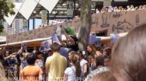 Vegan protesters descend on Masterchef filming location