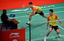 China beats Indonesia 2-1 at 2013 Sudirman Cup