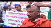 UP: 50 Dalits tonsure heads to protest against Yogi government's inaction