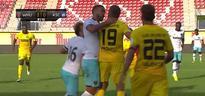 West Ham's Winston Reid loses his mind after teammate injured