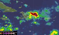 NASA analyzes heavy rainfall over Hispaniola