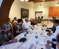 Rajnath chairs meet to review J&K situation