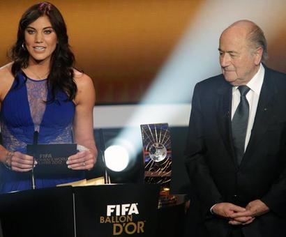 US footballer Solo accuses ex-FIFA boss Blatter of sexual assault