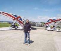 Disabled pilots on round Britain flight reach John O'Groats