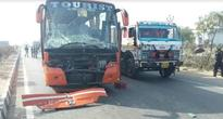 NHAI pickup truck ferries uncovered corpses for 30 kms after 4 die in road accident