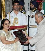 President of India Presents Sangeet Natak Akademi Fellowships and Sangeet Natak Akademi Awards for the Year-2015