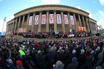 Hillsborough Vigil In Liverpool Sees Thousands Unite In Solidarity