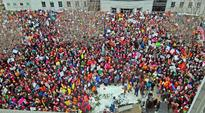 Thousands march in Northern New England for women's rights