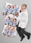 Doctor Forms 'Baseball Team' After Delivering 3 Sets Of Triplets In 6 Weeks