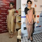 Sonam Kapoor shows you 4 ways to give your saree a stylish, contemporary makeover this wedding season