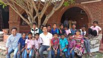 Tribal children take a step closer to Sainik School