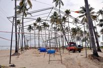 Thirumullavaram beach being spruced up for Vavu bali rituals