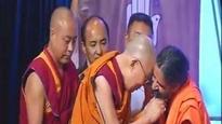 Watch: You won't believe what happened when Baba Ramdev met the Dalai Lama!