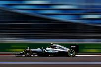 F1 qualifying: Nico Rosberg on Russian GP pole as Lewis Hamilton stumbles