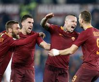 Serie A: Radja Nainggolan's screamer seals AS Roma's win over AC Milan