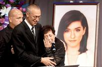 Parent's bid a tearful adieu to singer Christina Grimmie