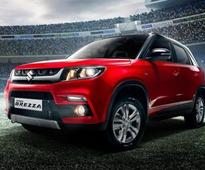 Maruti Vitara Brezza unveiled at 2016 Delhi Auto Expo