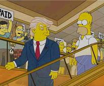 WATCH: The Simpsons saw Trump coming