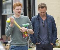 Tom Hiddleston in Suffolk after introducing Taylor Swift to the family